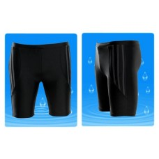 กางเกงว่ายน้ำผู้ใหญ่ ขาสามส่วนผ้าอย่างดี